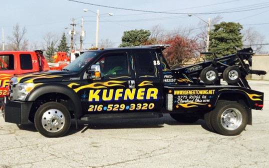 If you've been in an accident and need a tow, call Kufner Towing at (216) 529-3320